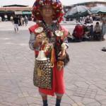 Marokko-Trinkwasserverkäufer traditionell-klein