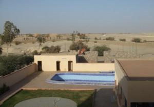 Timbuktu-Hotel mit Pool1