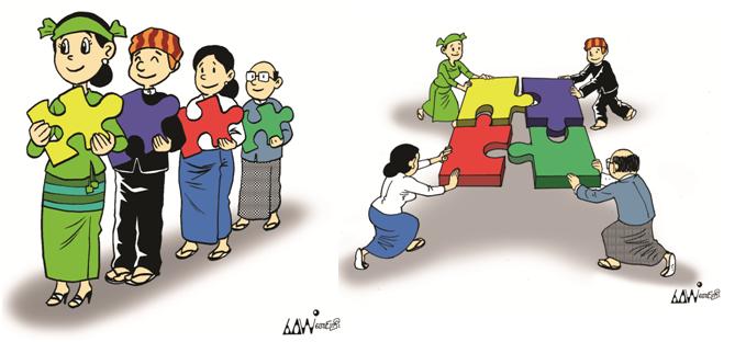 Myanmar-Ankündigung